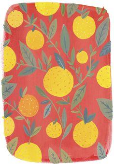 「ideas for fruit pattern illustrations」の画像検索結果 Art And Illustration, Pattern Illustrations, Watercolor Pattern, Floral Watercolor, Textile Patterns, Print Patterns, Funky Fruit, Fruit Pattern, Fruit Art