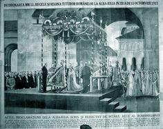 Incoronarea regilor Romanei - Alba Iulia Romanian Royal Family, Ferdinand, Queen Anne, Descendants, Edinburgh, Royals, Painting, Art, Queen Crown