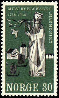 Sunniva på frimerke, 1965