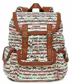 Olsenboye® Tribal-Print Backpack on shopstyle.com