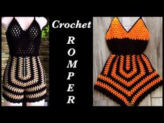 Crochet Shorts Pattern, Crochet Bookmark Pattern, Crochet Romper, Romper Pattern, Baby Girl Crochet, Crochet Woman, Crochet Clothes, Crochet Bikini, Knit Crochet