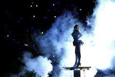 Singer Beyonce performs during the Pepsi Super Bowl XLVII Halftime Show