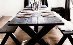 Härligt hemma | Så bygger du ett eget matbord