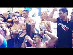 Optimum / Neulife Nutrition Athletes Posing For Fans @ Bodypower Expo 2016 Mumbai India