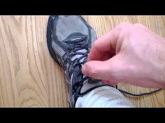 The tightest one handed shoe tying technique. Stroke Therapy, Tie Shoes, Plexus Products, Tights, Workout, Occupational Therapy, Exercises, Kid, Inspired