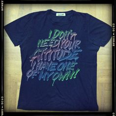 I don't need your attitude - Topman, Dublino  (Settembre 2008)