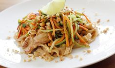 Asian Peanut Noodles with Chicken - 9SP