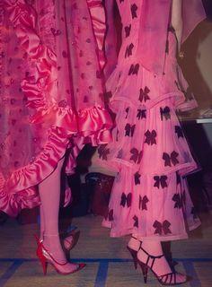 Pink Fashion, Runway Fashion, Womens Fashion, Romantic Fashion, Pink Outfits, Mode Outfits, Tutu, Fashion Design Sketches, Editorial Fashion