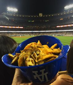 THINK BLUE: Macho Nachos #nachos #dodgers by suzy_q__