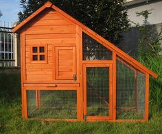 Large Rabbit Hutch, Double Storey Guinea Pig Ferret House Chicken Coop