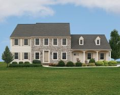 New construction single family home in the spirit of traditional Lancaster County style. By Garman Builders.