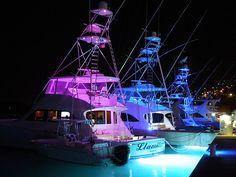 Viking Yachts Rendezvous 2012 at Yacht Haven Grande, St. Deep Sea Fishing Boats, Sport Fishing Boats, Viking Yachts, Small Yachts, Offshore Boats, Shrimp Boat, Boat Wraps, Ski Boats, Boat Insurance
