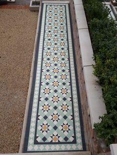 5 x 5 cm Archives - Martin Mosaic Ltd Bespoke Design, Corridor, Tile Design, Restore, Paths, Tile Floor, Restoration, Tiles, Mosaic