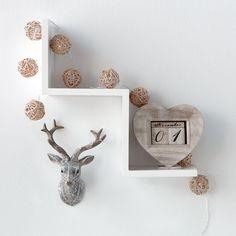 Zig Zag Wall Shelf/Shelves & Hooks/Wall Decor/Kids/Kids & Baby|Bouclair.com