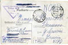 Da  Auschwitz a Desenzano, la cartolina spedita 70 anni fa