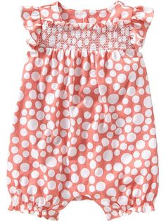 Old Navy | Smocked Rompers for Baby, bought this for my daughter