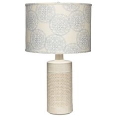 Jamie Young Lighting Table Lamp Base Astral White