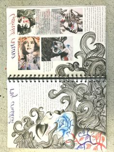 Photography sketchbook layout presentation 39 Trendy ideas A Level Art Sketchbook Water Lolo Art Inspo, Kunst Inspo, Kunstjournal Inspiration, Sketchbook Inspiration, Sketchbook Ideas, Portfolio D'art, Fashion Portfolio, Arte Gcse, Artist Research Page