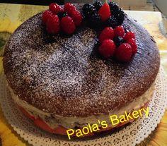Naked cake al cioccolato (fatta con amore)