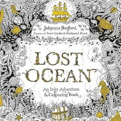 A gorgeous oceanic coloring book. | 20 Gifts Every Wannabe Mermaid Needs To Ask For This Year