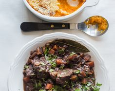 Recipe   schnitzel   Beef Roulades with Crunchy Honey Pumpkin