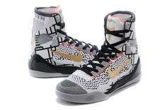 Buy Men s NK Kobe 9 Elite High-Top Basketball Shoes Black White Online from  Reliable Men s NK Kobe 9 Elite High-Top Basketball Shoes Black White Online  ... 491ea1b0c