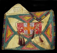 Shoshone Parfleche www.prairieedge.com #NativeAmerican #Art