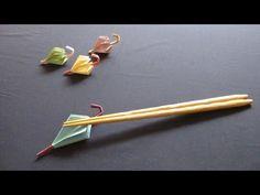▶ 折り紙で作る箸置き~6月傘~[How to ORIGAMI] Umbrella - YouTube