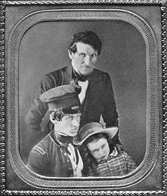 (1846) Portrait of Brevet 2nd Lieutenant George B. McClellan (future Union general) in uniform with his father and one of his brothers shortly before he headed off to fight in the Mexican-American War