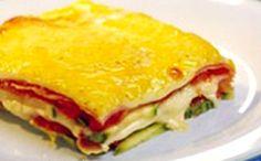 Receita de torta de frios com legumes para a fase cruzeiro PL dukan.