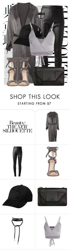 """""""Untitled #1278"""" by noviii ❤ liked on Polyvore featuring Pedro del Hierro, Jean-Paul Gaultier, Gianvito Rossi and Yves Saint Laurent"""
