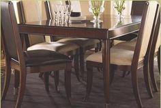 Lexington Furniture Trump Home Dining Leg Table 01-0651-874