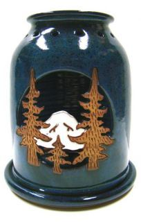 Mountain Candle Handmade Pottery Lantern - by Pam and Mac - Pacific Northwest Shop