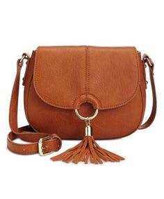 315330bd87 INC International Concepts Emerson Saddle Bag