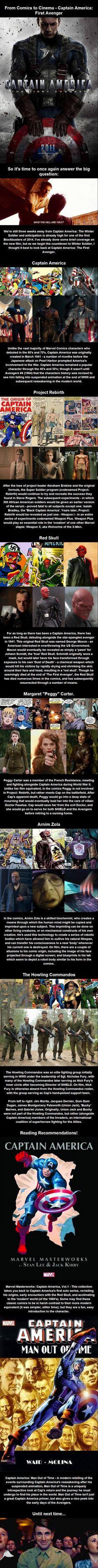 From Comics to Cinema - Captain America: First Avenger #captainamerica #ohcaptainmycaptian