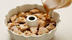 This is it!  The classic monkey bread recipe, oozing with warm caramel and cinnamon. Monkey bread is irresistible!