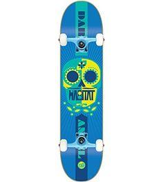 "HABITAT Skateboard Complete SUGAR SKULL ANGEL 7.87″ Tensor Assembled: 7-Ply Canadian Maple Deck (7.87"") Tensor Magnesium Trucks 52mm TGM…"