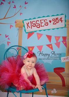 SWEET HEARTS tutu....Valentine Day tutu with shabby chic headband...red and pink tutu....size newborn-5/6 available. $34.95, via Etsy.