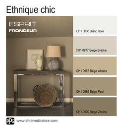 Cette gamme de #couleurs intemporelles met en valeur les accessoires #déco éclectiques. www.chromaticstore.com