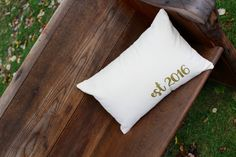 established 2016 - gold design - Farmhouse style collection- Home Decor- Request any specific year by reprizedesigns on Etsy