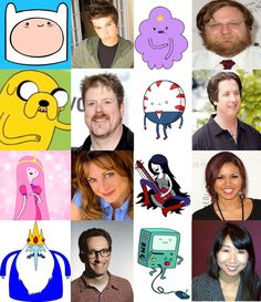 Voices of Adventure Time