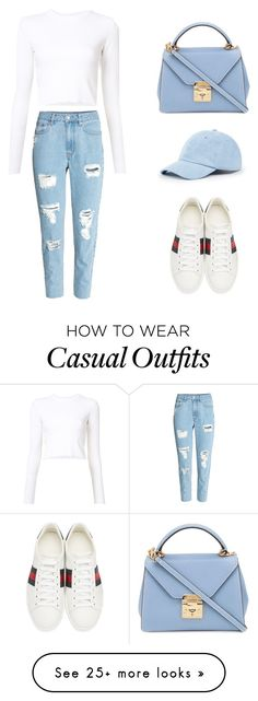 """FABULOUSLY CASUALLY CHIC"" by jadejacks on Polyvore featuring Proenza Schouler, Gucci, Sole Society and Mark Cross"
