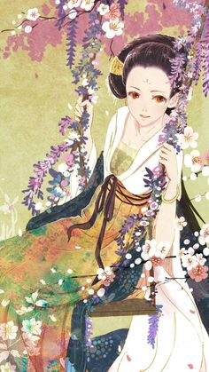 """""""The Empresses in the Palace"""" Biography @ micro-Bo Xu Xiao Ling left"""