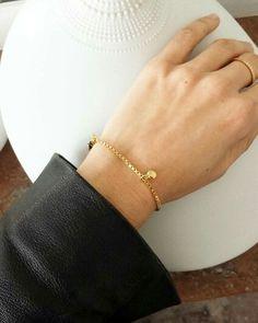 NOUVELLE COLLECTION P/E 16 Le bracelet ADELE doré à l'or fin 24 carats est à découvrir sur le eshop ➡ www.elodietrucparis.tictail.com ❤ FDP offerts à partir de 50 EUR d'achat pour les livraisons en France métropolitaine