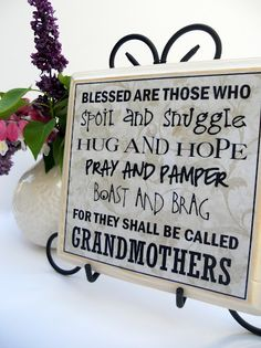 Just Another Hang Up: May's Plaque Attack -- A Tribute to Grandmothers!