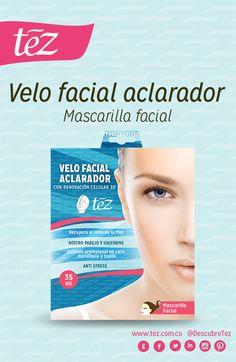 Recupera el tono de tu piel con el velo facial aclarador Tez. http://www.tezboutique.com/velos-faciales/velo-aclarador-3d/