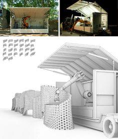 Gramazio & Kohler's brick-laying robot