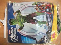 Hulk costume 7 8 years