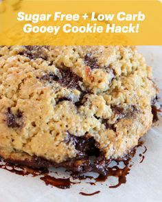 Good Dee's Chocolate Chip Cookie Mix - Low Carb, Sugar Free, Gluten Free, and Grain Free Gooey Cookies, Keto Cookies, Cookies Et Biscuits, Sugar Free Desserts, Sugar Free Recipes, Low Carb Desserts, Gourmet Recipes, Low Carb Recipes, Dessert Recipes