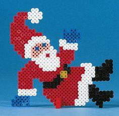 Santa hama perler beads